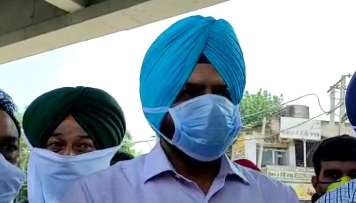 Blind Association protest against govt