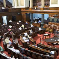 parliament session nep gst economics