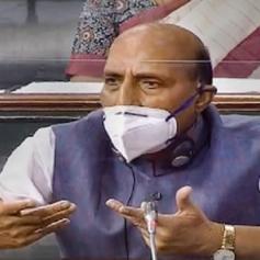 Rajnath Singh says in Lok Sabha