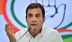 rahul gandhi attacks modi govt over