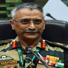 Indian Army Chief General Narwane said