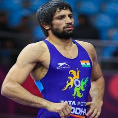 Olympic quota winner Ravi Dahiya