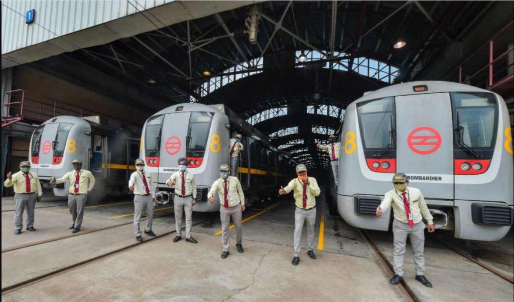 Delhi Metro services resume