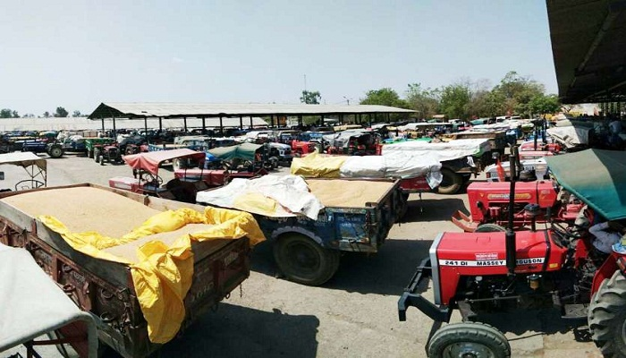 up farmers stopped at haryana border