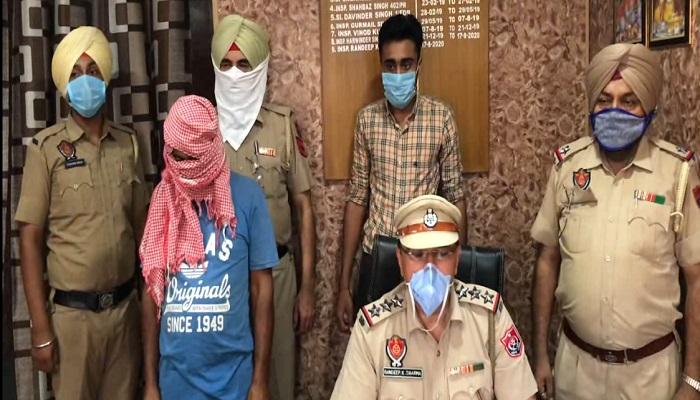 Police Arrested drug smuggler
