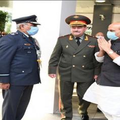 Rajnath meets Russian Defense Minister