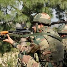 pakistan again violates ceasefire
