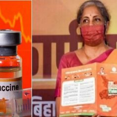 sitharaman said free covid vaccine promise