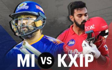 IPL 2020 MI vs KXIP
