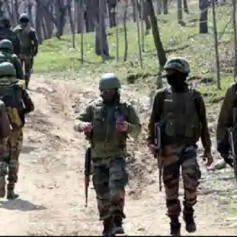 kashmir terrorist caught in police encounter