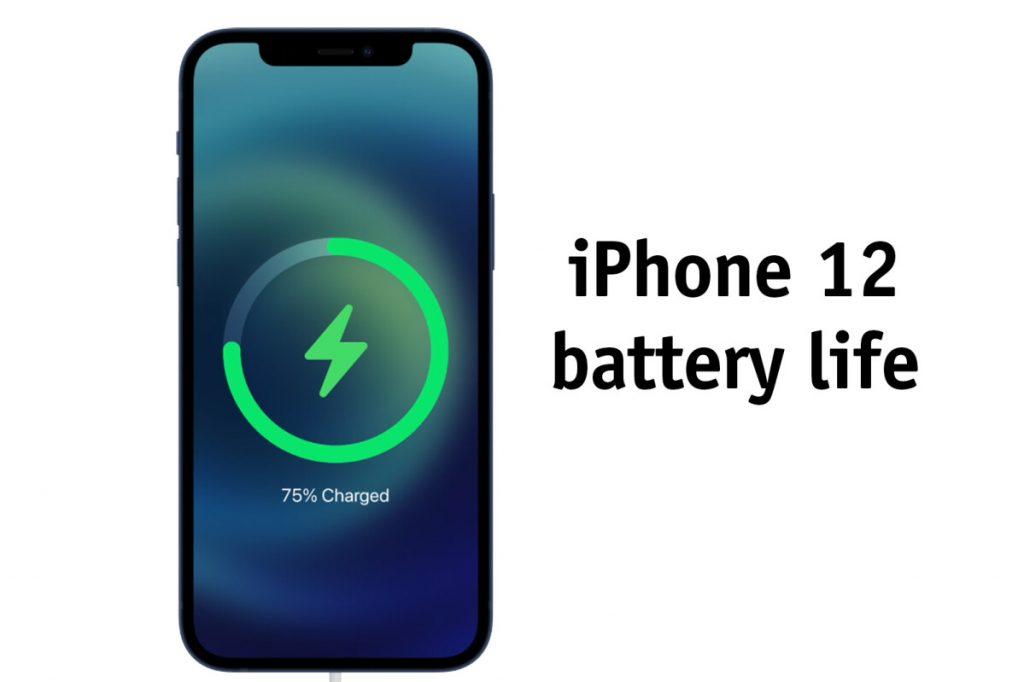 iPhone 12 battery backup