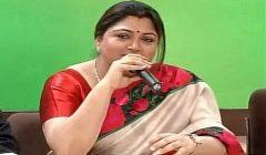Khushboo Sundar resigns from Congress