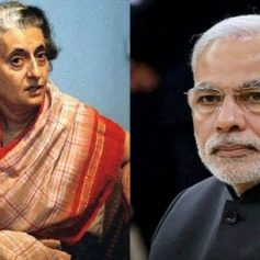 Pm modi pays tribute to indira gandhi