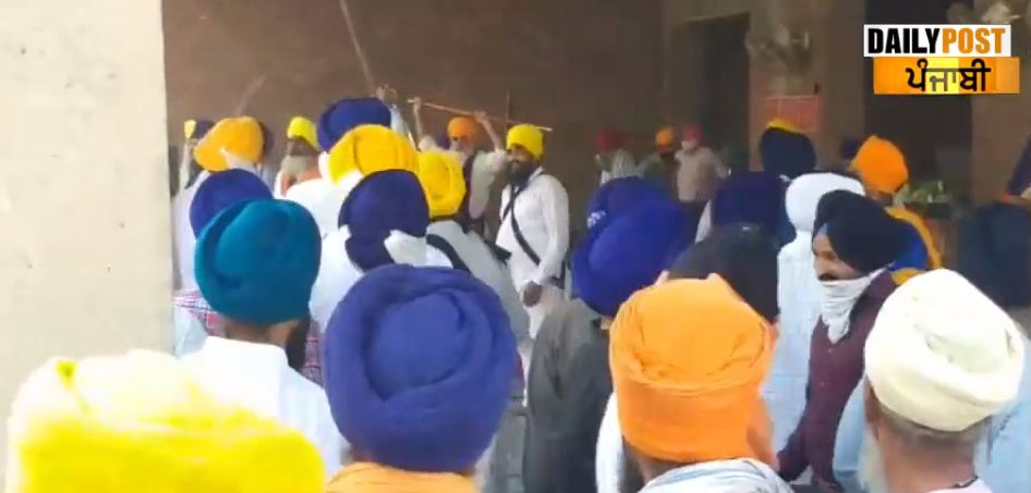 Clash between SGPC and satikar committee