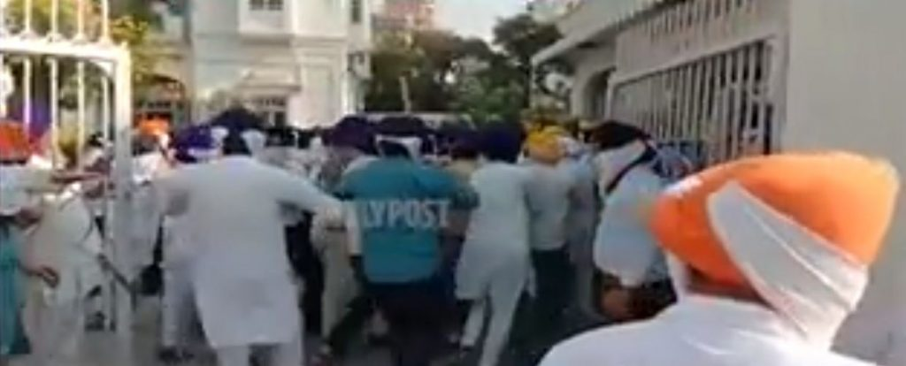 Sikh organizations clash with SGPC task force