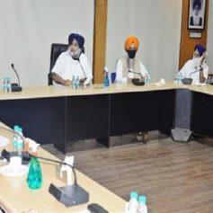 Akali Dal core committee meeting