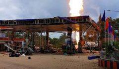 fire at petrol pump bhubaneswar