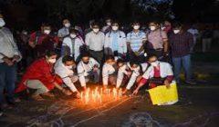 delhi doctors protest at jantar mantar