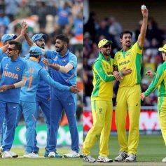 India vs Australia full schedule