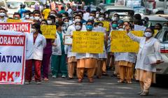 delhi mcd hospital no sallary