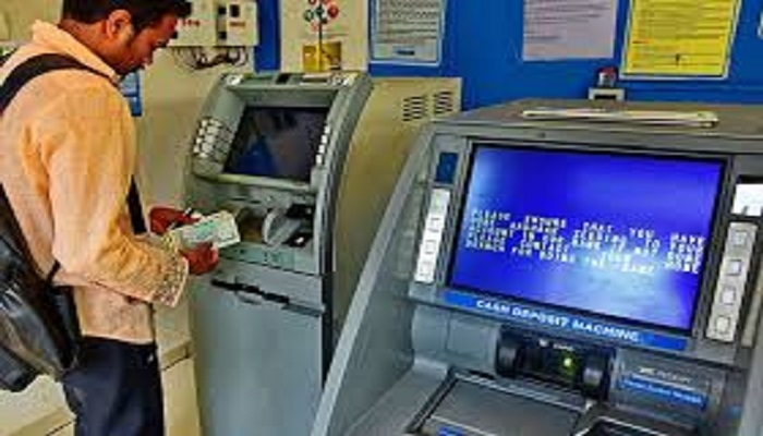 Withdrawing cash from ATMs