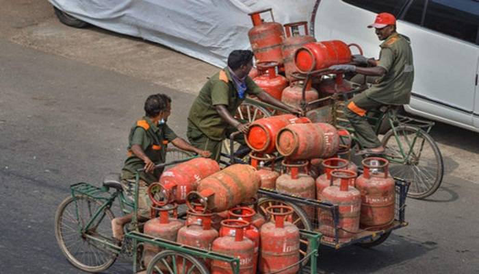 lpg cylinder new home delivery system