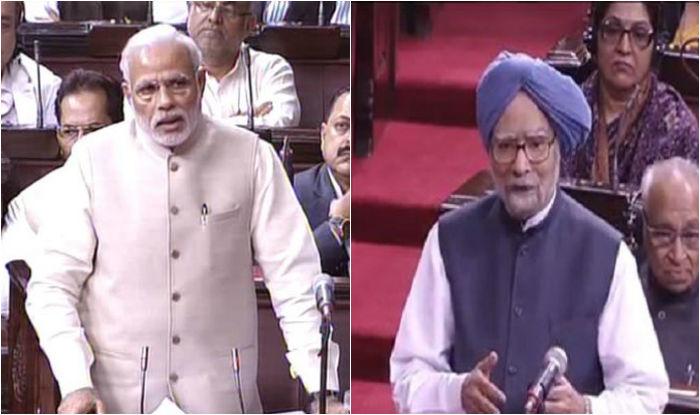 PM Modi spoken in Parliament