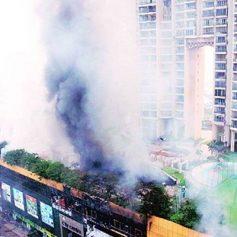 mumbai fire fighting operation still on