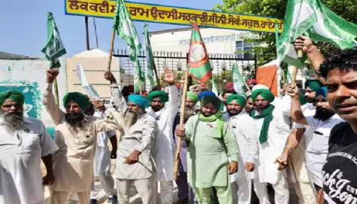 Insult to farmers in the meeting