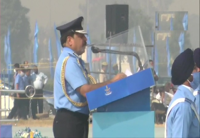 IAF chief RKS Bhadauria Says
