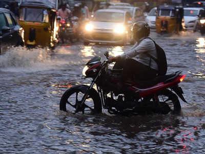 Hyderabad heavy rainfall