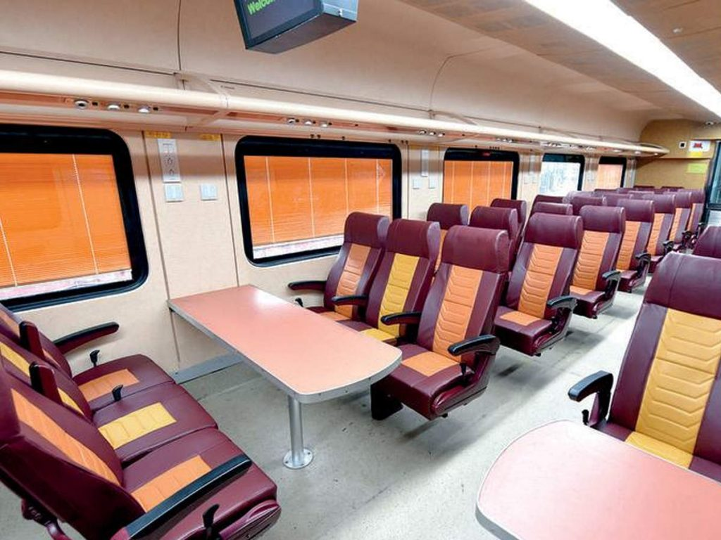 IRCTC Tejas corporate trains