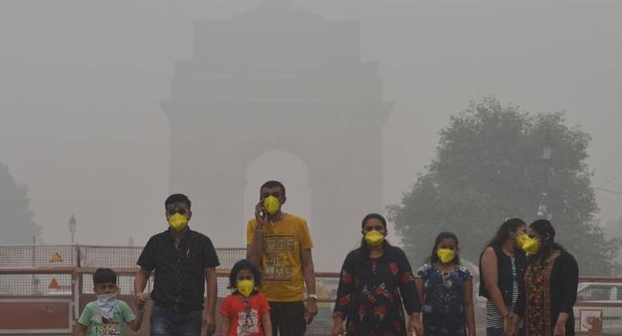 Effects of pollution on corona virus