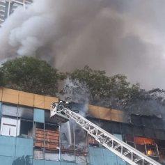 mumbai fire at nagpada mall
