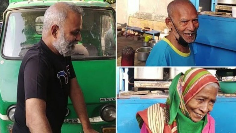 Delhi elderly couple running Baba ka Dhaba
