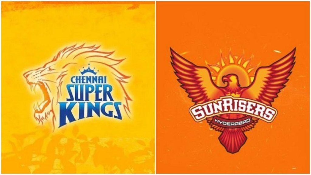 IPL 2020 CSK vs SRH