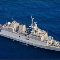 ins kavaratti indian navy commissioning ceremony