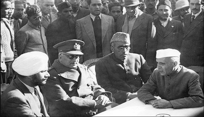 Kashmir was annexed to India today