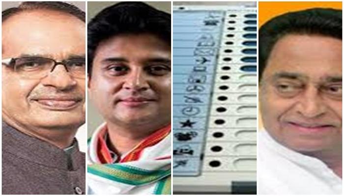 madhya pradhes bypolls voting