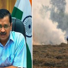 Speaking on pollution Kejriwal said