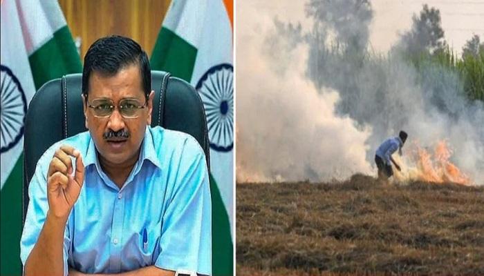 Speaking on pollution Kejriwal said