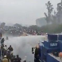 Farmers protest kisan says