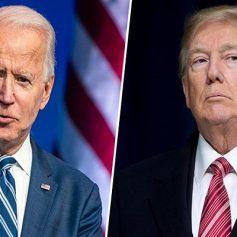 Biden hits out at trump said