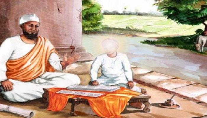 Guru Nanak Dev Ji teaching