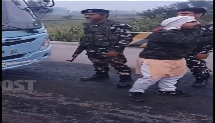 Farmers and soldiers clash over Modi
