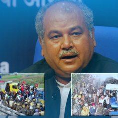 narendra tomar statement farmers protest