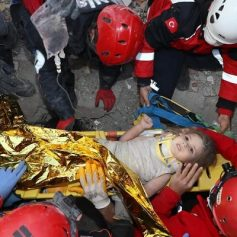 Turkey earthquake baby girl