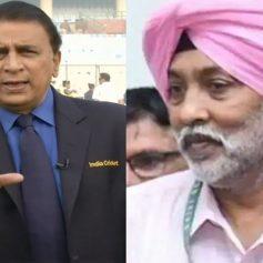 Sunil Gavaskar helped MP Singh