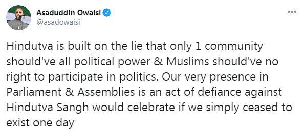 Asaduddin Owaisi Says