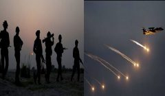 air strike and surgical strike